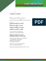 Acordes del CD Juan de la Cruz, íntimo (Jose Manuel Montesinos)