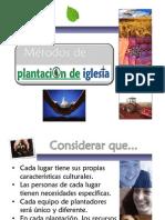 Metodos de Plantación de Iglesias