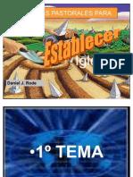 Tema 1 - Iniciativas Pastorales Para Plantación