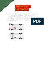 ALINEACIÓN Y BALANCEO