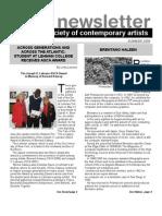 Newsletter 35 SUMMER 2009