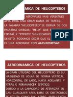 AERODINAMICA  DE  HELICOPTEROS