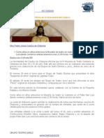 Nota de Prensa III Muestra de Teatro Solidario El Cautivo