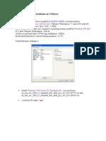 SAP ECC6 EHp4 Installation on VMware