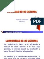 Tema 6- Moralidad de Sistemas
