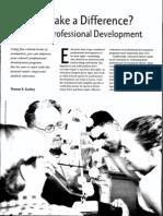 Guskey 2002 Eval Prof Development