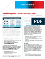 Talent Management 3.0 -What-Why-How - 2011 Spring