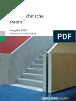Betontechnische Daten - Ausgabe 2009