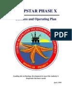 DeepStar Business and Operating Plan