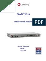Radio Enlace Ceragon Fibeair IP-10-Specs