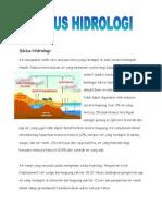 Siklus Hidrologi