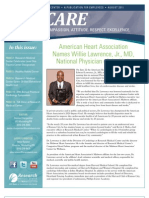 CARE Newsletter - August 2011