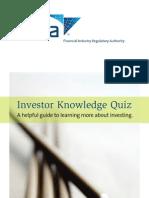 Investor Knowledge Quiz