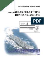 Mengelas Plat Tipis Dengan Las Gas Oaw