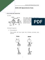 ALAT UKUR & SST (Special Service Tools)