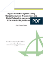 Digital Protection System Using Optical Instrument Transformers