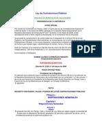 Ley Contrataciones Publicas 25-03-08