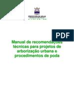 Manual de Arborização e Poda - ARUJÁ
