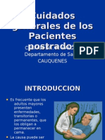 Cuidados Generales de Los Pacientes Postrados