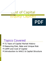 Cost of Capital Equity Capital 3335