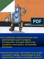 Anestezicele Locale