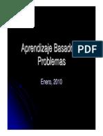 Aprendizaje Basado en Problemas taller de metodología centrada en la acción