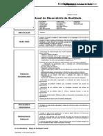 Relatório Anual do Observatório  da Qualidade-2010-2011