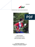 IOF-EnV-007 Orienteering - A Nature Sport With Low Ecological Impact