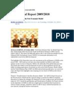 SME Annual Report 2009-2010