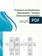 Strategies for Information Management, Towards Knowledge Management