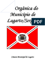 Lei Organica - Lagarto