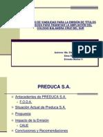 Estudio ad Para Emision Titulos de Deuda Para Financiar Ampliacion de Colegio