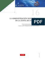 La Administración Electrónica en la Junta de Andalucía