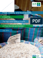 Price Volatility and Food Security