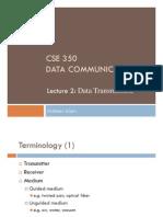 CSE350 Lec2 Data Transmission
