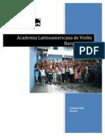 Academia Latanoamericana de Violín Barquisimeto