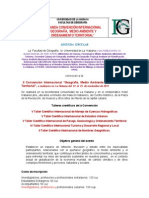 Segunda Circular Convencion Geografia 2011[1](1)