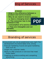 Branding of Services