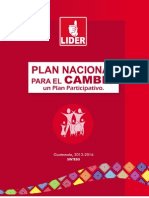 Plan Nacional Para El Cambio
