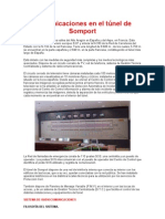 Comunicaciones en el túnel de Somport