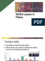 EE303Sp09 L05 Filters