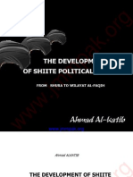 The Development of Shiite Political Thought