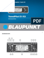 Blaupunkt-Travelpilot e1 User Manual