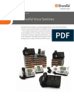 Shoretel Voice Switches Spec