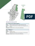 Descripción de Límites Localidades Bogotá por UPZ