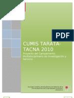 III Cumis Tacna Tarata 2010