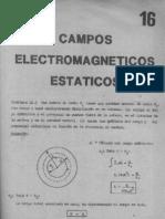 SOLUCIONARIO FINN CAP III - Campos Electromagneticos Estaticos