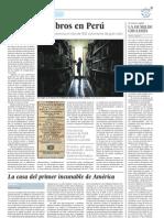 Expolio de libros en Perú