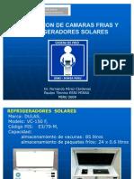 INSTALACION  REFRIGERADORES SOLARES 2009
