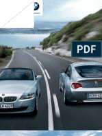 z4 Coupe Roadster Catalogue